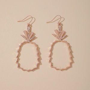 NEW!🍍Boho Glitz Dangle Shimmer Pineapple Earrings